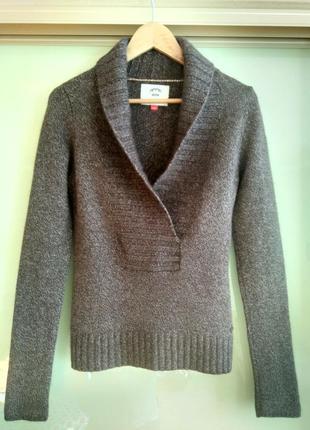 Шерстяной свитер / джемпер esprit (германия) (шерсть мериноса, ангора, вискоза)