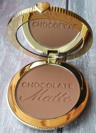Бронзер too faced chocolate soleil bronzer