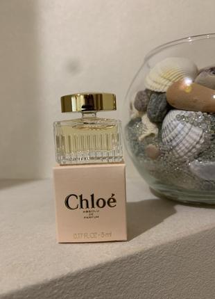 Chloe absolu de parfum парфюмированная вода (мини)