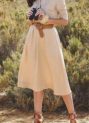 Актуальное трендовое платье сафари  yessica