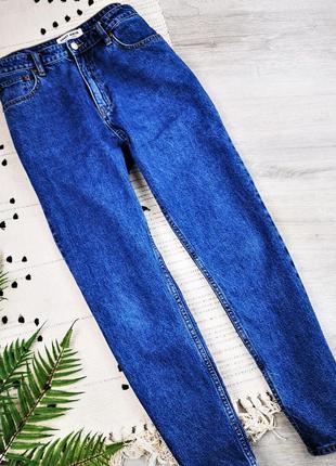 Темно-сині джинси мом tally weijl джинсы mom jeans
