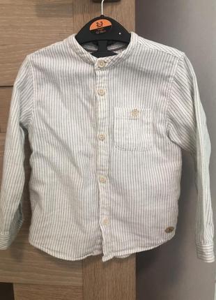 Рубашка zara 2-3p