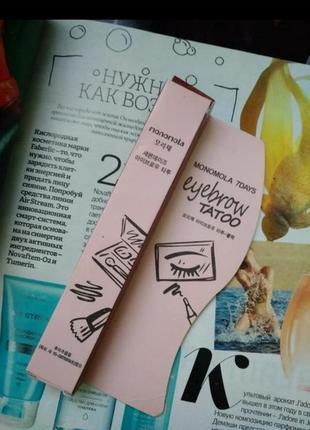 Маркер карандаш для бровей тату еффект