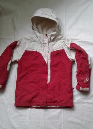 Термо куртка лыжная на девочку 10-12 лет