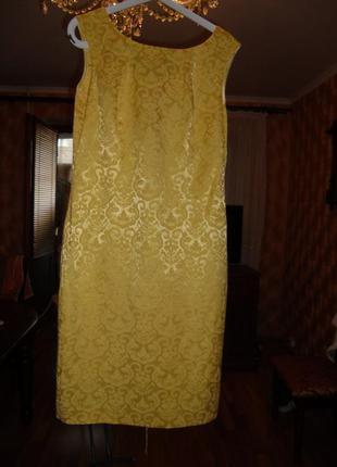 Летнее платье миди р,12(46-48)