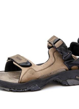 Кожаные сандалии teva s/n 6731.