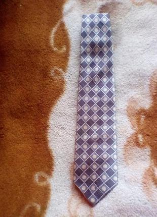 Derby шёлковый галстук.