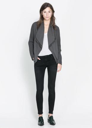 Джинсы zara черные узкие джинсы зара скини узкачи слим размер xs