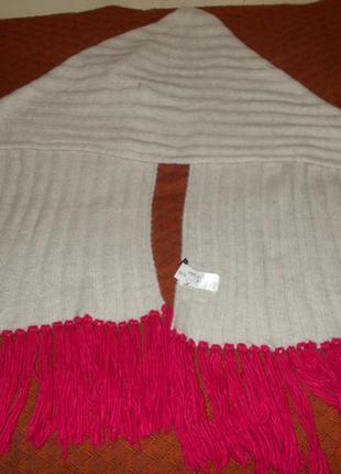 Теплый шарф h&m