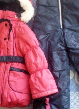 Зимний комбинезон курточка и штаны 98 размер