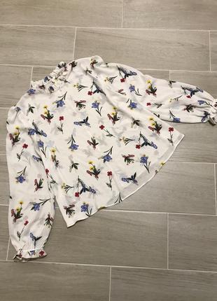 Роскошная блуза в цветочный принт marks & spencer