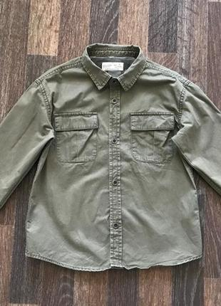 Рубашка zara 5 лет 110 см