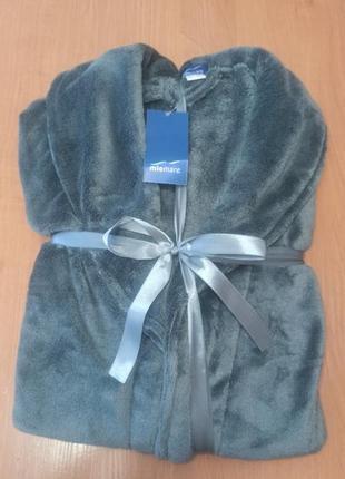 Шикарный подарок мужской халат miomare германия в упаковке m