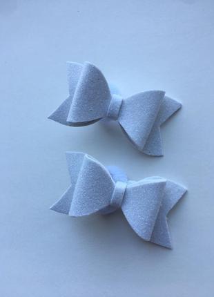 Резиночки бантики ручной работы