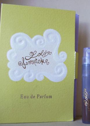 Lolita lempicka - edp - 1.2 мл. spray оригінал. вінтаж