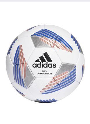 М'яч футбольний adidas tiro competition fs0392 №5 білий