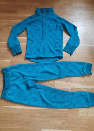 Флисовый спортивный костюм, рост 122