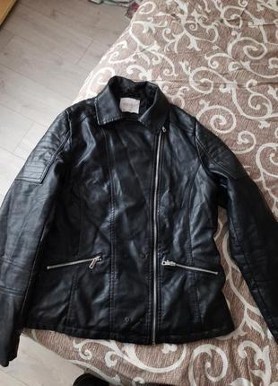 Шкіряна косуха.куртка xxl 54 ,52рр