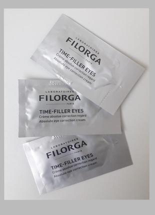 Filorga time-filler eyes крем для контура глаз, коррекция всех видов  морщин