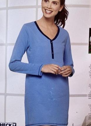 Ночнушка женская, пижама, одежда для дома blue motion