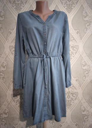 Джисовое платье 50-52р