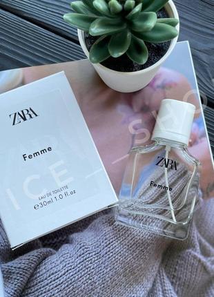 Zara femme 30мл духи парфюмерия туалетная вода оригинал испания купить