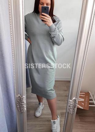 Платье свитшот от zara
