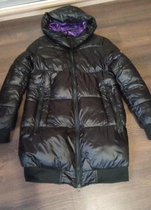 Куртка зимняя тёплая черная