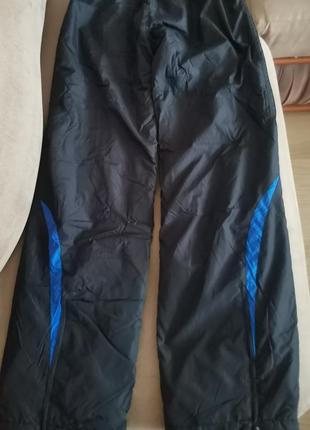 Утепленные брюки от adidas с боковыми карманами на молнии , размер s