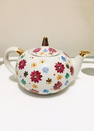 Чайник заварочный для чая винтажный