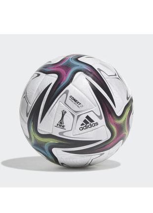 М'яч футбольний офіційний adidas ліга націй pro omb fs0205 білий