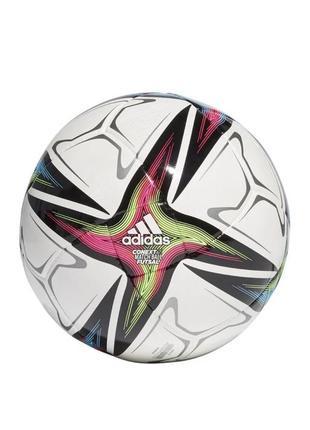 М'яч футзальний adidas uniforia pro sala ball euro-2020 №4 fh7350 білий