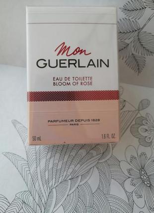 Женский аромат  guerlain mon guerlain bloom of rose 50 мл. оригинал