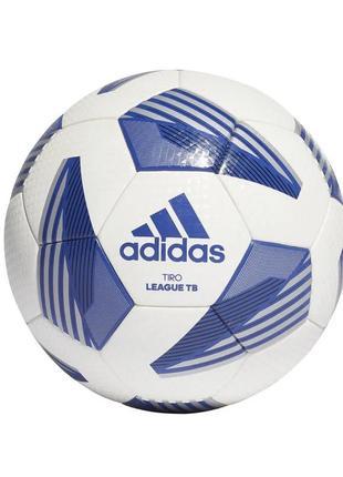 М'яч футбольний adidas tiro league tb №5 fs0376 білий
