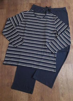 Трикотажная пижама, домашний костюм livergy германия m 48/50