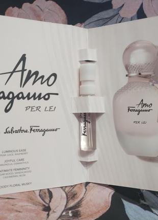 Salvatore ferragamo amo ferragamo per lei парфюмированная вода