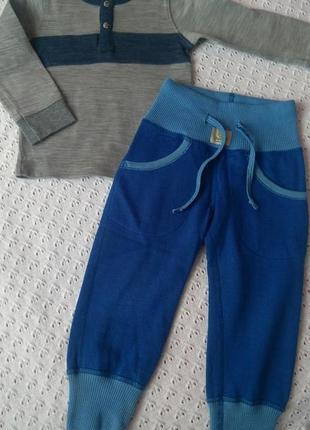 Термобілизна з шерсті мериноса термо реглан штани термобелье поддева