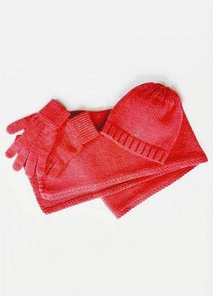 Комплект шапка шарф перчатки colin's.