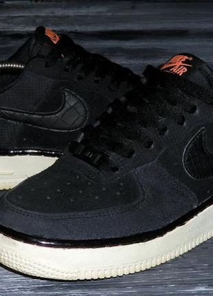 Nike air force 1 оригинальные, стильные, кожаные невероятно крутые кроссовки