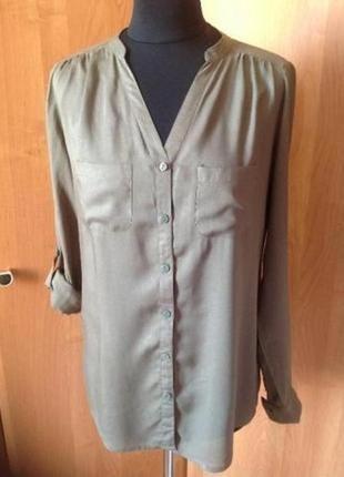 Блуза-рубашка terranova р. xs