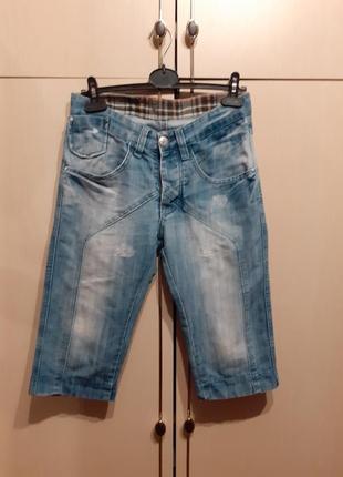 Бриджи джинсовые tks
