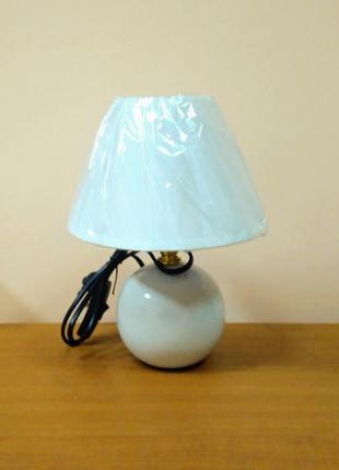 Настольная лампа ночник с абажуром
