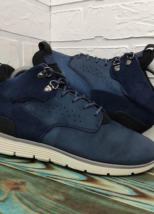 Оригинальные кожаные ботинки кроссовки timberland 37