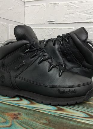Оригинальные кожаные ботинки timberland 37