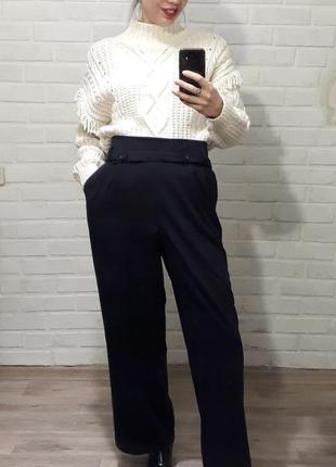 Стильные красивые теплые брюки