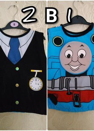 Карнавальный костюм томаса , поезд томас,машинист,паравозик томас