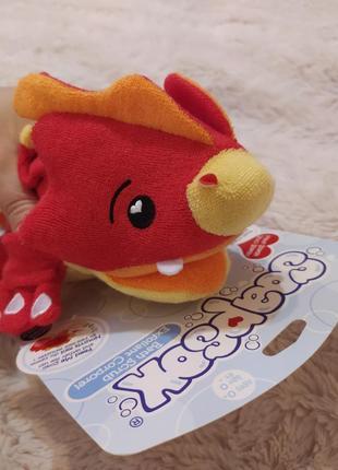 Детская мочалка в виде забавного дракончика из сша