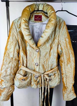 Стильная утепленная легкая куртка baessge цена снижена!