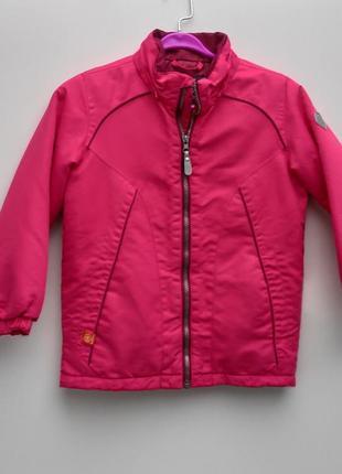 Рожева дитяча куртка color kids розмір 116-122 (101-д)