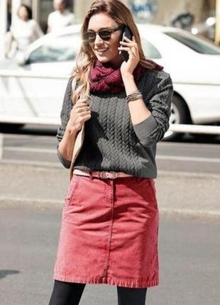 Стильная базовая женская юбка от известного европейского бренда. сток.